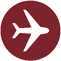 airplane-travelling around the world with Caravel Travel Services-icon
